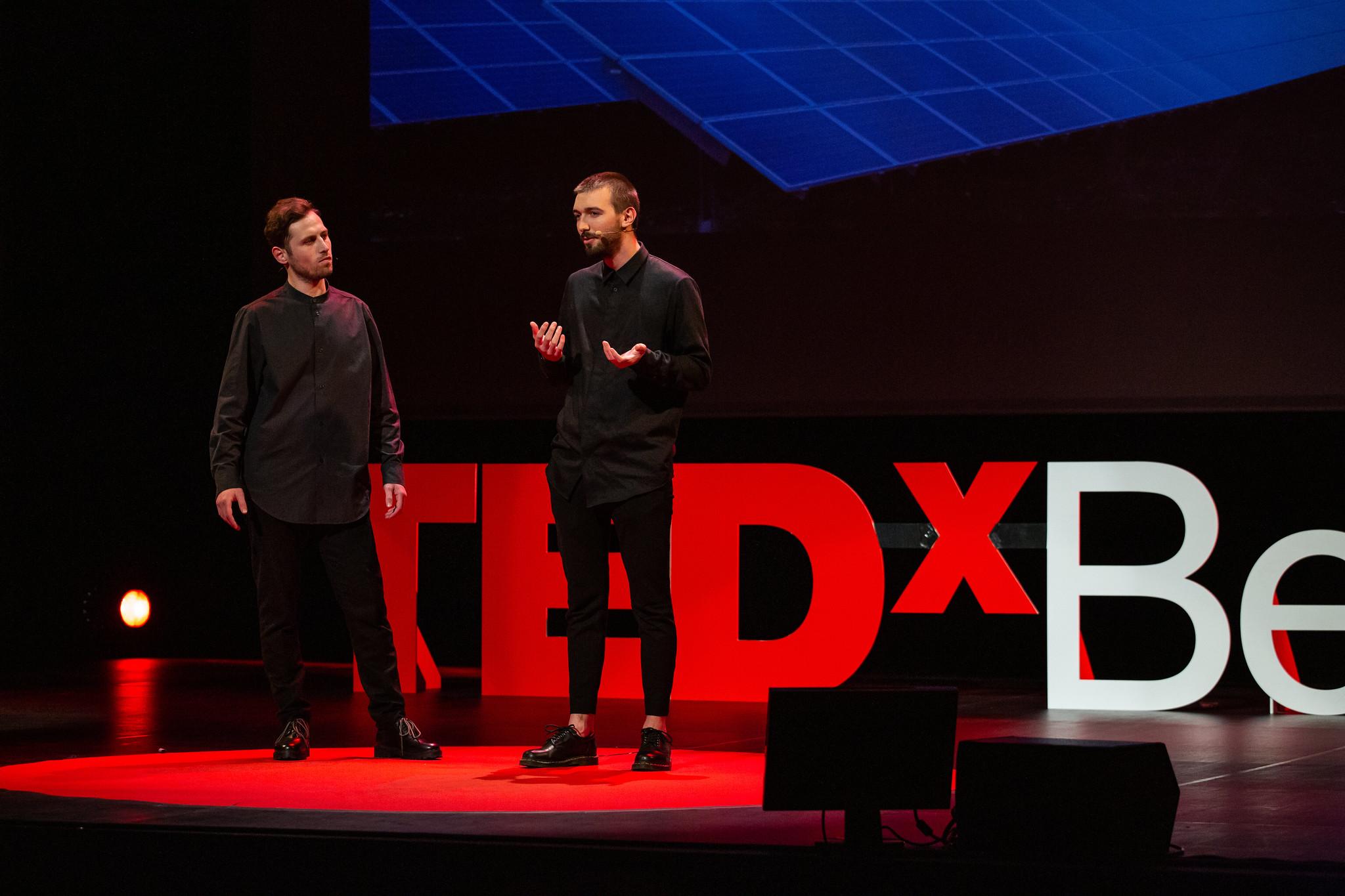 TEDx Belfort Speech Thibaud Toussaint
