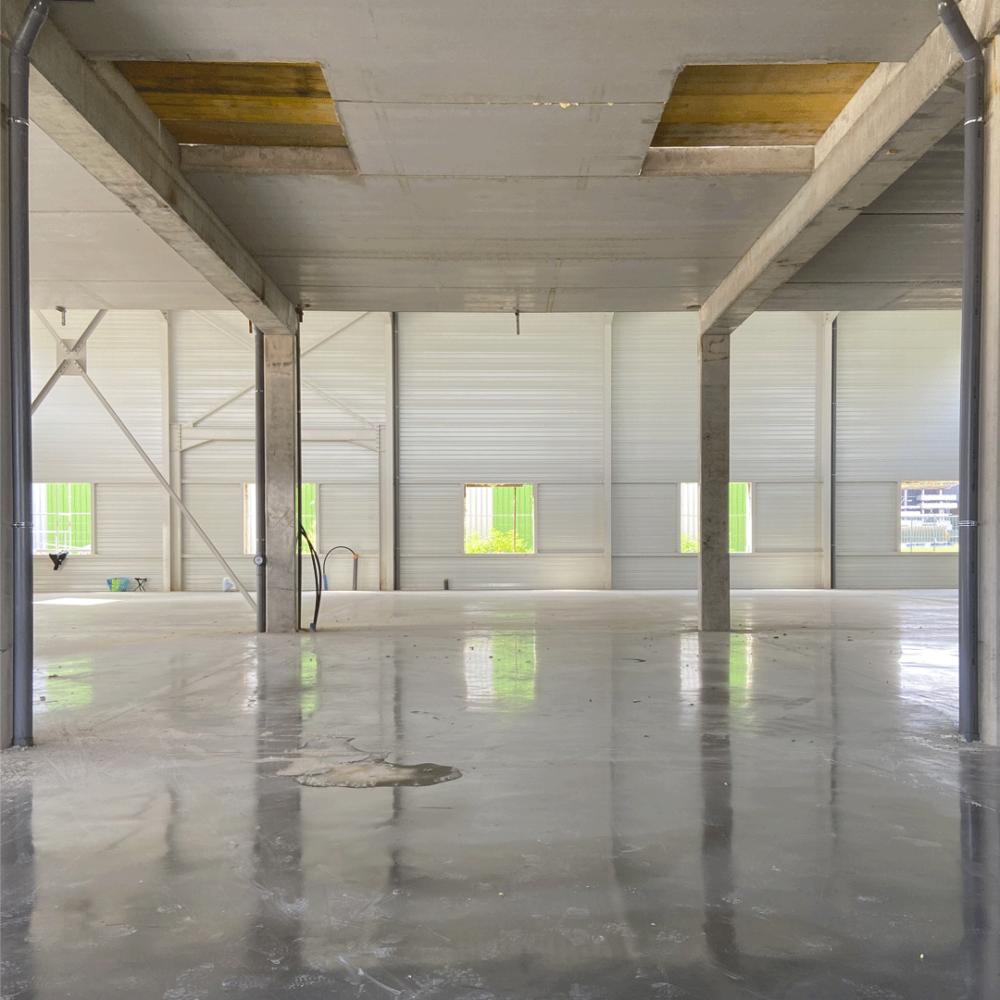 bâtiment industriel bureaux et locaux d'activité COLMAR agglo tôle aluminium